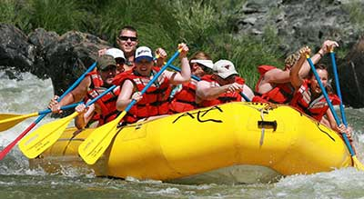 Dude Ranch Activites - Rafting