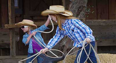 Dude Ranch Activites - Children's Programs