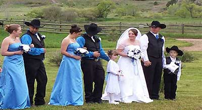 Dude Ranch Events - Weddings