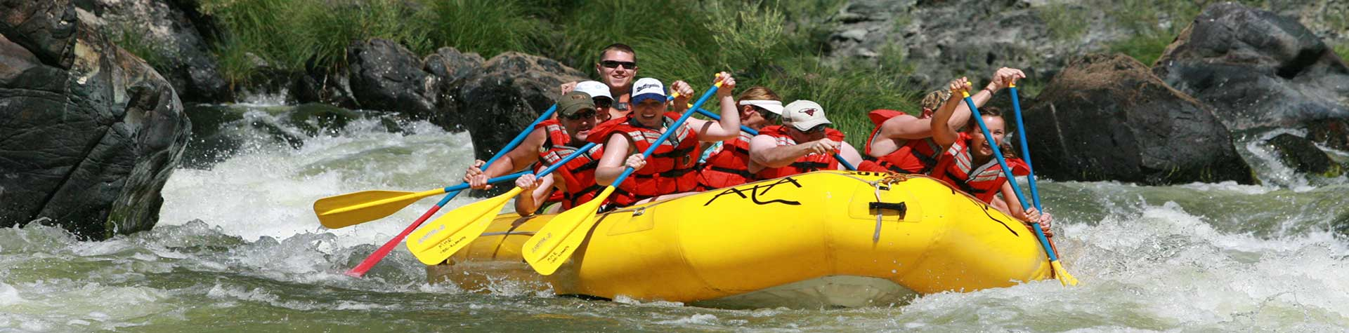 Rafting at Dude Ranches